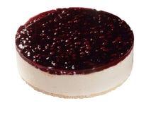 Cheesecake z jagoda wierzchołkiem Obrazy Stock