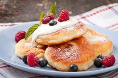 cheesecakes cream прокишут Стоковое Изображение RF
