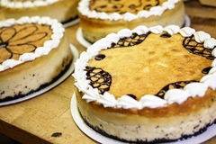 Cheesecakes Royalty Free Stock Images