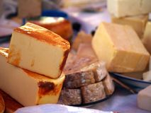 Cheeses Royalty Free Stock Image