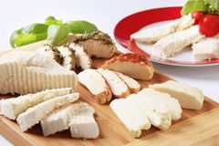 Cheeses Royalty Free Stock Images
