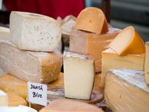 Cheeses Royalty Free Stock Photography