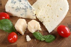 Cheeses. Stock Photos