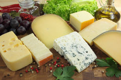 Cheeses Stock Photo