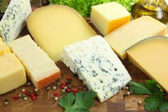 Cheeses Royalty Free Stock Photo