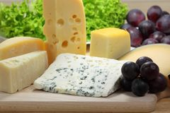 Cheeses Stock Photography