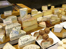 Cheeses Market Stock Images