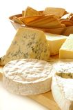 Cheeses Selection. An image of different cheeses including Brie, Stilton and Camembert Stock Photo