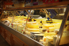 Free Cheeses Shop Royalty Free Stock Photography - 24449577