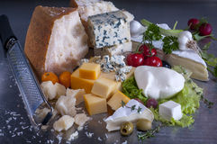 Cheeses Royalty Free Stock Photos