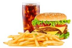 Cheesesburger menu Stock Photo