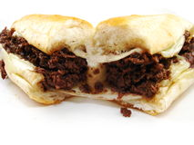cheesesteak philly Fotografia Stock