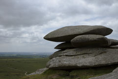 Cheesewring stones Bodmin Royalty Free Stock Images