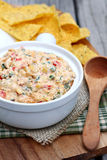 Cheesy Corn Dip Stock Image