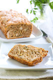Cheesy herb bread Royalty Free Stock Image