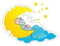 Cheesy moon Royalty Free Stock Photos