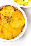 Cheesy Scalloped Potatoes Stock Images