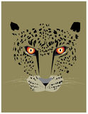 Cheetah art work Royalty Free Stock Photo