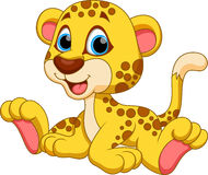 Cheetah cartoon Stock Photography
