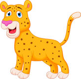 Cheetah cartoon Royalty Free Stock Photography