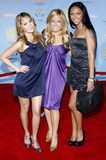 The Cheetah Gilrs. The Cheetah Girls attends the DVD Premiere of `High School Musical 2` held at the El Capitan Theater in Hollywood, California, United States Royalty Free Stock Photography