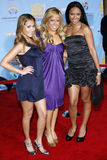 The Cheetah Gilrs. 11/19/2007 - Hollywood - The Cheetah Girls attends the DVD Premiere of `High School Musical 2` held at the El Capitan in Hollywood, California Stock Images