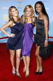 The Cheetah Gilrs. 11/19/2007 - Hollywood - The Cheetah Girls attends the DVD Premiere of `High School Musical 2` held at the El Capitan in Hollywood, California Royalty Free Stock Photo