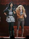 The Cheetah Girls exécute de concert photo stock