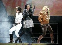 The Cheetah Girls exécute de concert photos libres de droits