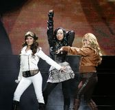 The Cheetah Girls exécute de concert photographie stock