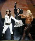 The Cheetah Girls exécute de concert photo libre de droits