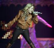 The Cheetah Girls exécute de concert image stock