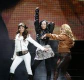 The Cheetah Girls executa no concerto fotografia de stock