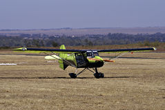 Cheetah Ultralight Airplane - Parked Royalty Free Stock Photos