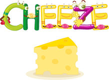 Cheeze Royalty Free Stock Images