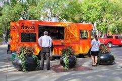 Cheezy Bizness food truck Stock Image
