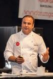 Chef Ángel León. One star Michelin Royalty Free Stock Photography