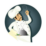 Chef. Vector illustration of chef,eps stock illustration
