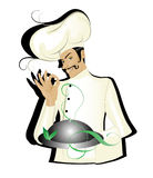 Chef. Vector illustration of chef isolated on white background,eps,jpg vector illustration