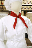 Chef. Mannequin with out face Royalty Free Stock Image