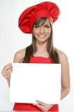 Chef #5 de femme photo stock