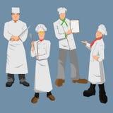 chef Ilustração Stock