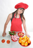 Chef #7 de femme Photos stock