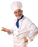 Chef. Isolated over white background