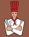 Chef illustration stock