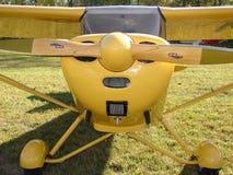 Chef admirablement reconstitué d'Aeronca 11AC dans la lumière de matin photo stock
