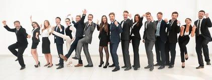 Chef avec l'équipe créative d'affaires Photographie stock libre de droits