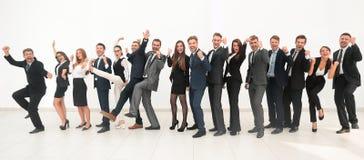 Chef avec l'équipe créative d'affaires Photos stock