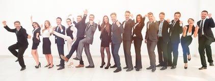 Chef avec l'équipe créative d'affaires Photo libre de droits