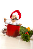 Chef baby Royalty Free Stock Image